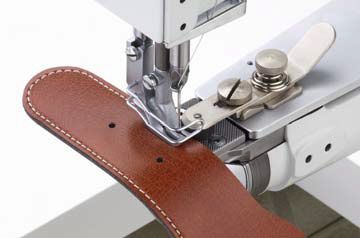 Machine coudre industrielle triple entra nement canon durkopp adler 69 73 glasman - Coudre le cuir ...