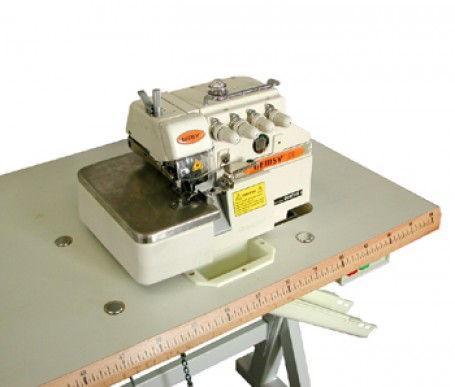 Gemsy gem747g surjeteuse industrielle 4 fils 2 aiguilles for Machine a coudre 4 fils
