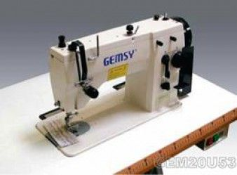 Gemsy gem20u53 machine zigzag point nou industrielle for Machine a coudre zig zag occasion