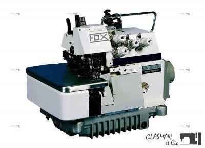 Fox ov 634 240 surjeteuse industrielle 4 fils avec for Machine a coudre 4 fils