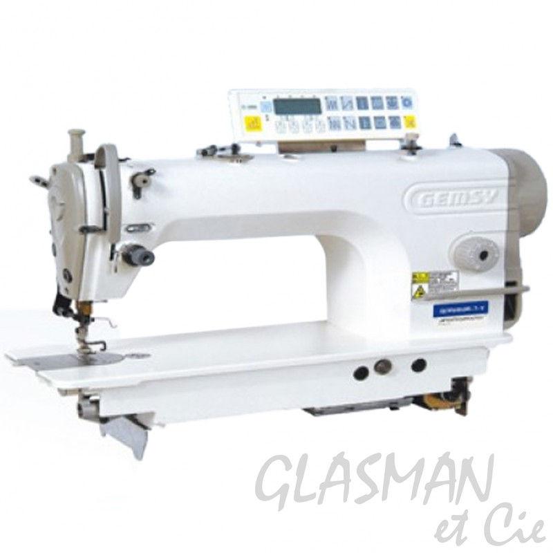 Machine coudre industrielle gemsy gem9000w 7 wb for Machine a coudre 7 ans