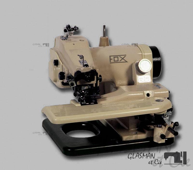 ourleuse industrielle point invisible portative fox bm 210 glasman machines coudre. Black Bedroom Furniture Sets. Home Design Ideas