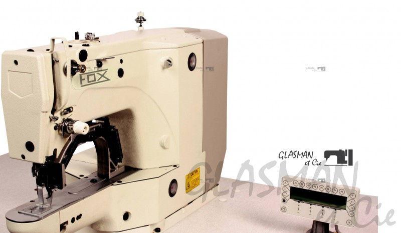 Machine point d 39 arr t lectronique fox bt 1900 glasman for Machine a coudre yamata