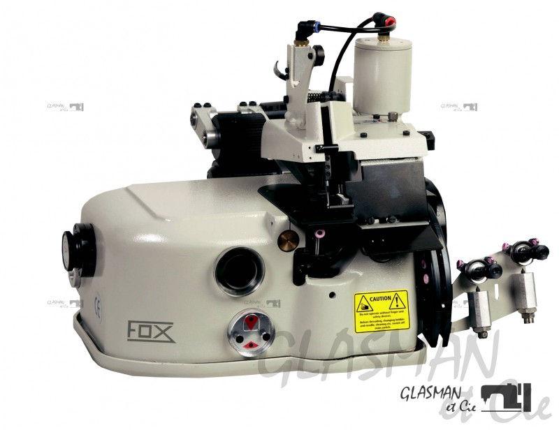 surjeteuse industrielle pour moquette fox cov 2502 glasman machines coudre