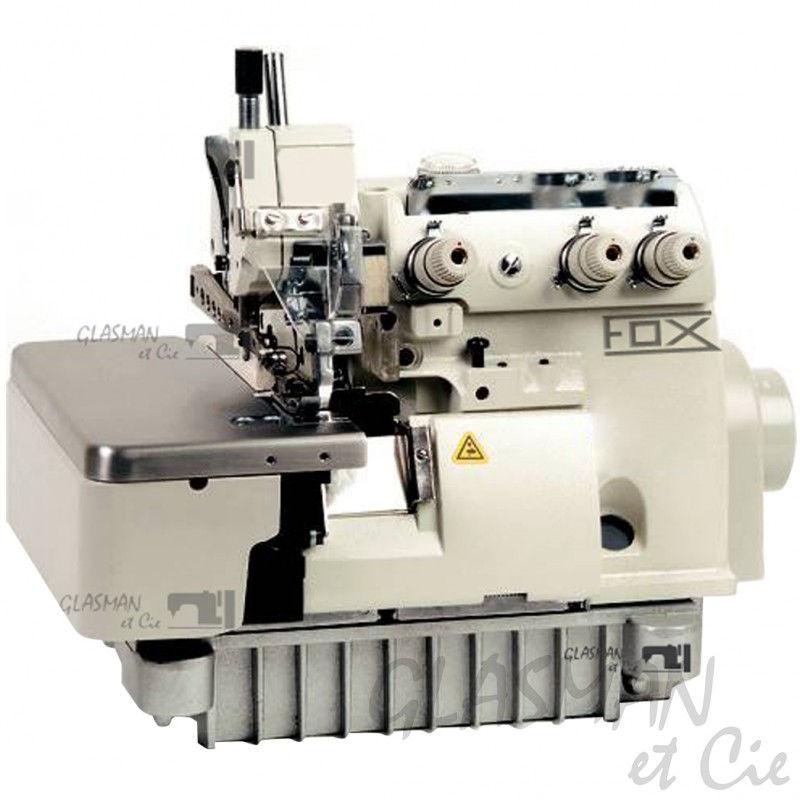 Surjeteuse industrielle 4 fils fox ov 814 240 glasman for Machine a coudre 4 fils