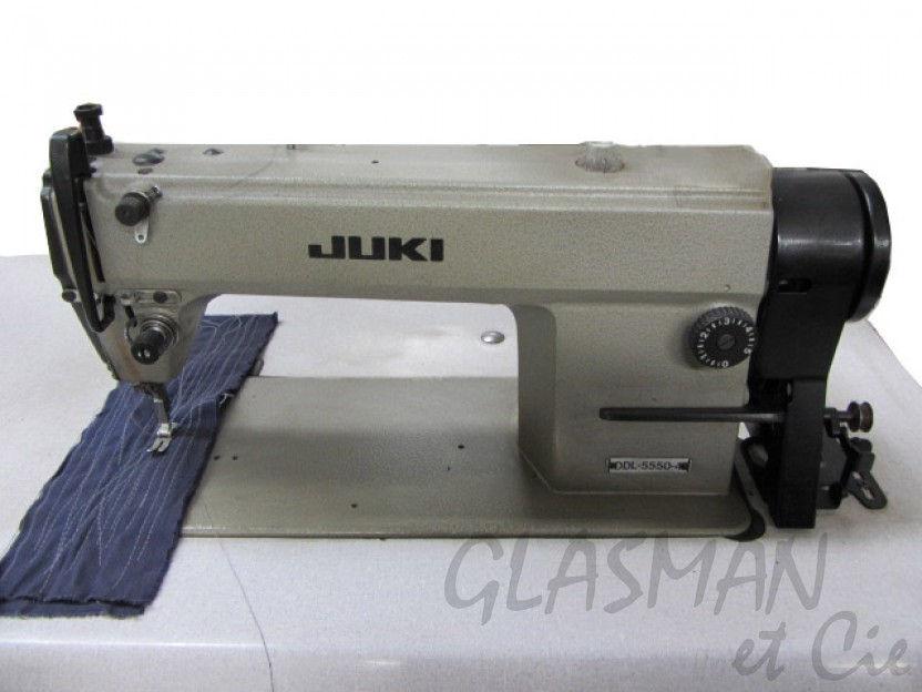 Juki ddl 5550 machine coudre professionnelle piqueuse - Porte sectionnelle industrielle occasion ...