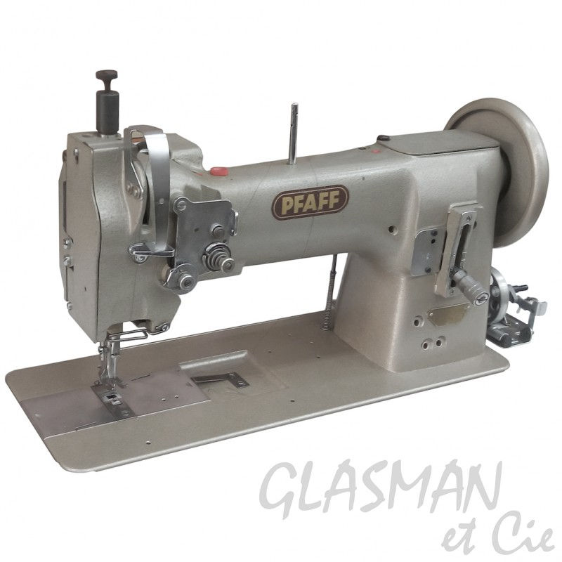 pfaff 145 piqueuse plate entrainement machine 224 coudre base plane pour le cuir glasman