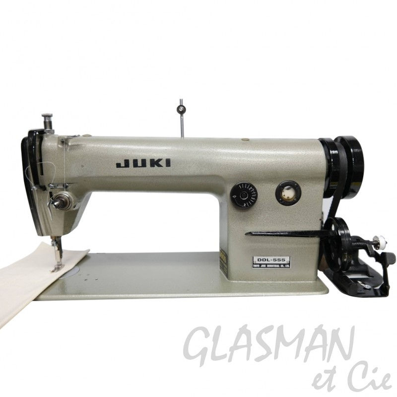 Machine coudre juki ddl 555 piqueuse plate industrielle for Machine a coudre occasion