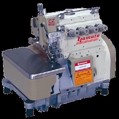 Surjeteuse industrielle 2 aiguille 4 fils yamato cz6020 for Machine a coudre 4 fils
