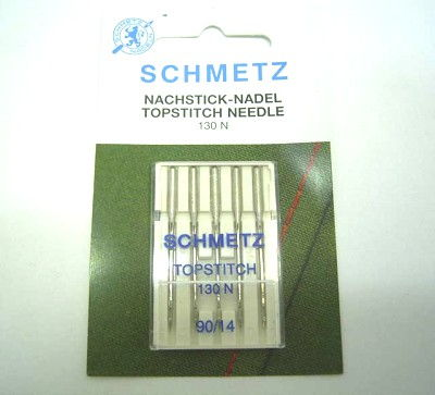 Aiguilles machine à coudre 130N TOP STITCH - NM90 - 5pcs GROZ BECKERT/SCHMETZ