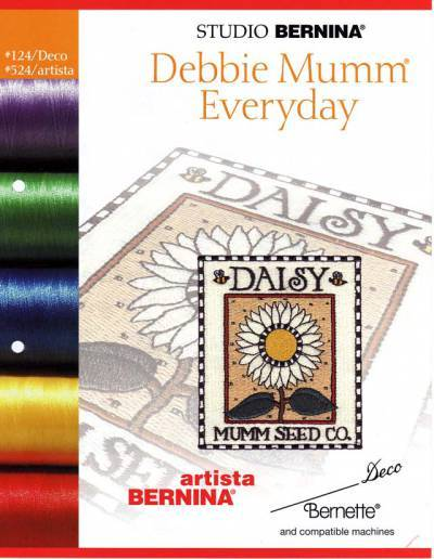 BROTHER DEBBIE MUMM 2 124 Cartes / cd de broderies 2379