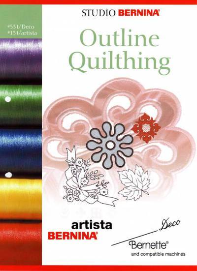 BROTHER OUTLINE QUILTING 131 Cartes / cd de broderies 2384