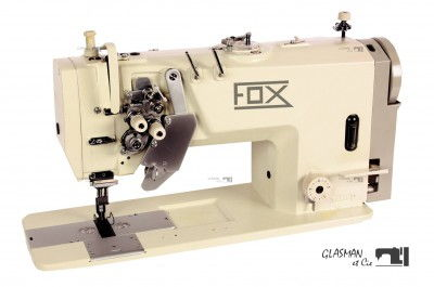Machine à coudre industrielle 2-aiguille escamotables FOX DN 8420 LH
