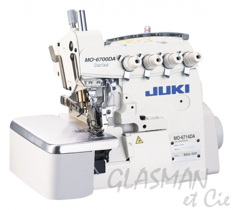 Surjeteuse industrielle 4 fils juki mo 6714 da glasman for Machine a coudre 4 fils