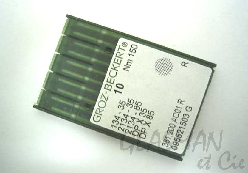 10 Groz-Beckert 134-35 DPX35 2134-35 PFAFF industrielle machine à coudre aiguilles