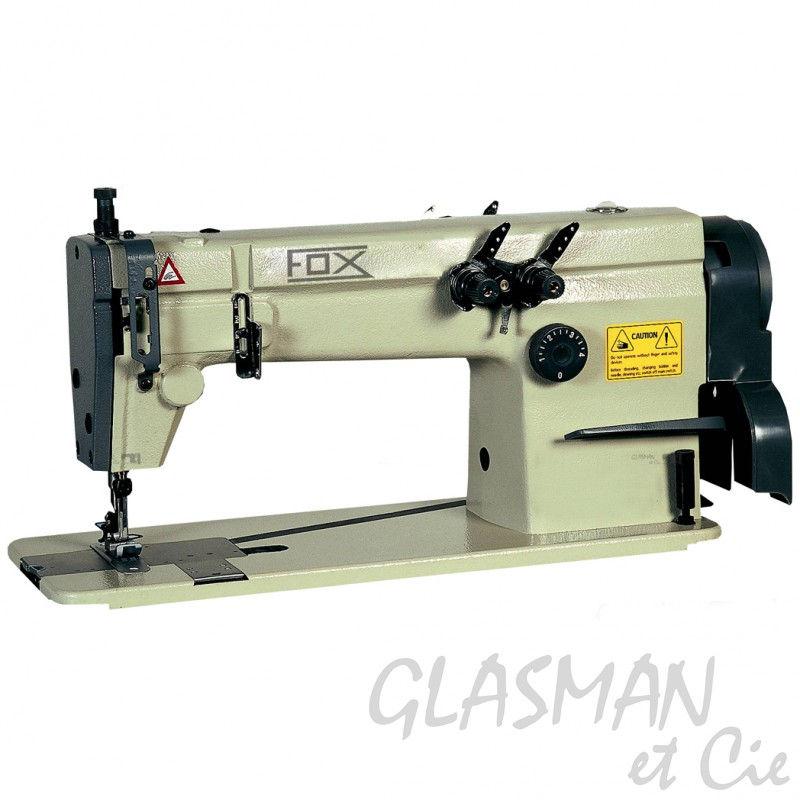Fox Ch 5002 Piqueuse 2 Aiguilles Machine à Coudre Professionnelle Point De Chaînettes