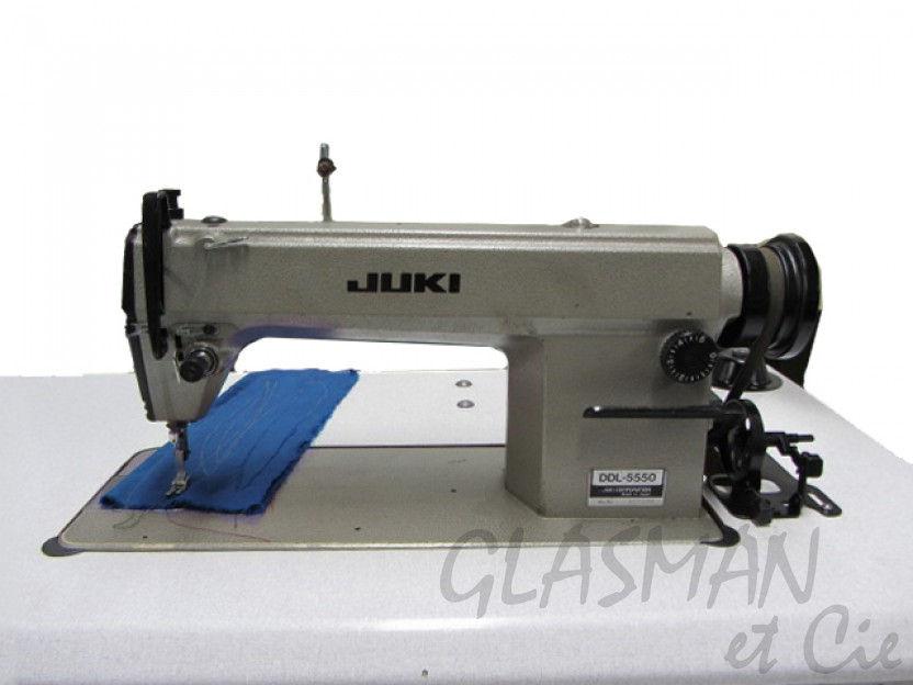 juki ddl 5550 machine coudre professionnelle piqueuse plate glasman machines coudre. Black Bedroom Furniture Sets. Home Design Ideas